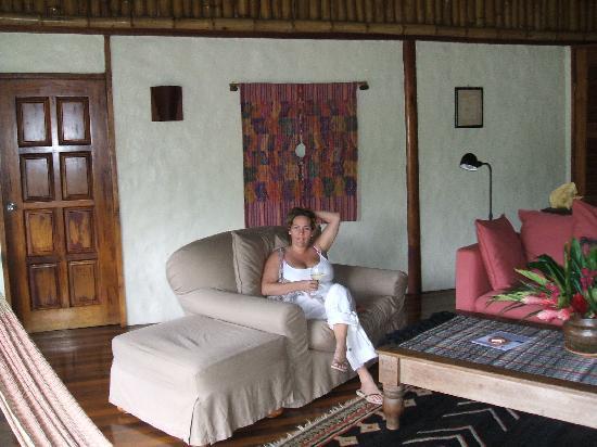 Blancaneaux Lodge: Largest Villa, $1200/nite!  2 bdrm, outdoor living room