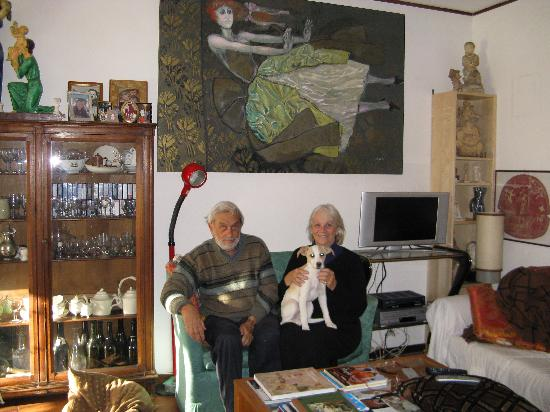 B&B Albero Gemello: Mary, Mario and their new puppy!