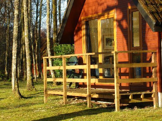 Burnbank Lodges: our romantic cabin