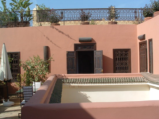 Dar Silsila: The roof terrace
