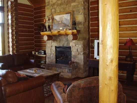 Teton Springs Lodge and Spa: Great room