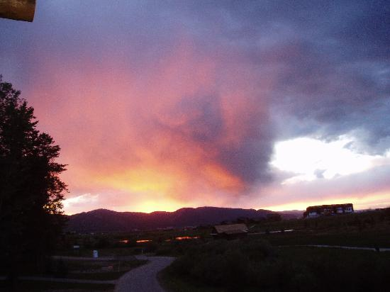 Teton Springs Lodge and Spa: Sunset