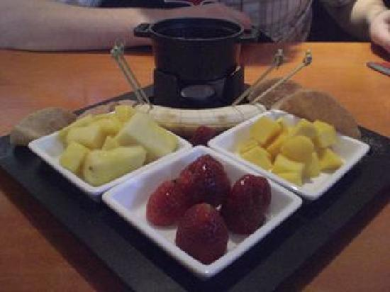 Stir Crazy: Chocolate Fondue Dessert