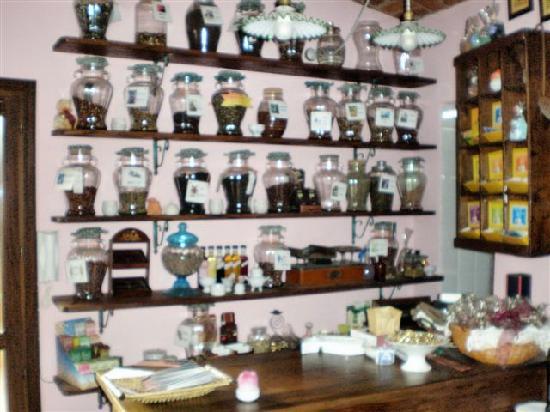 La Curandera: particolare della sala da pranzo