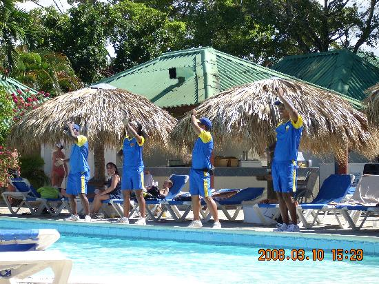 Occidental Caribbean Village Playa Dorada : les animateurs tres sympathique