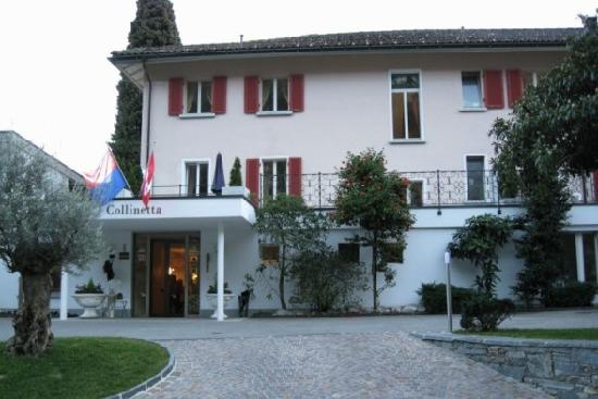 Hotel Collinetta : This is the front view of the hotel