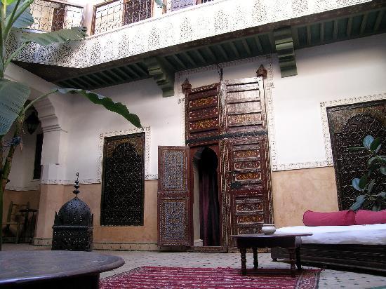 Riad Chraibi : Riads Interior Courtyard 2