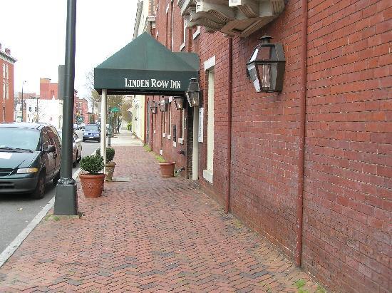 Linden Row Inn -Main Entrance