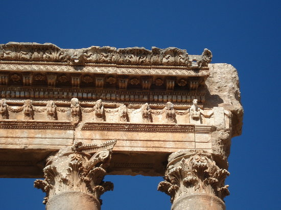 Baalbeck, เลบานอน: Jupiter Temple Baalbak