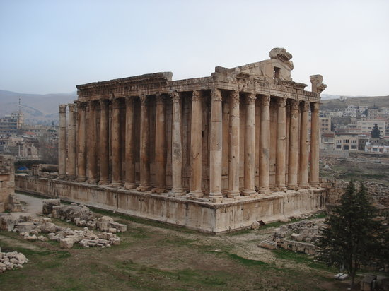 Baalbeck, เลบานอน: Temple of Bachus: Baalbak