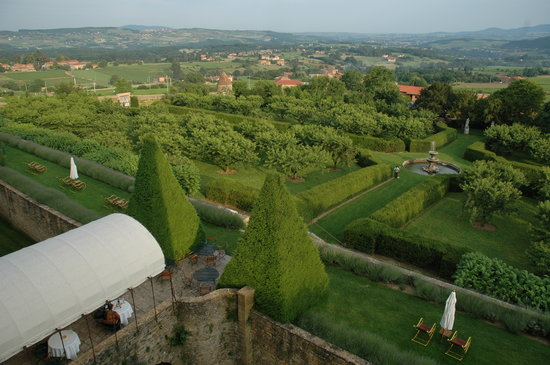 Bagnols, Frankreich: The gardens
