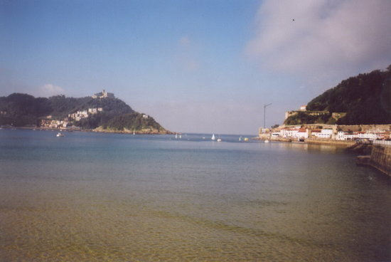 San Sebastian - Donostia, Spain: view from embankment