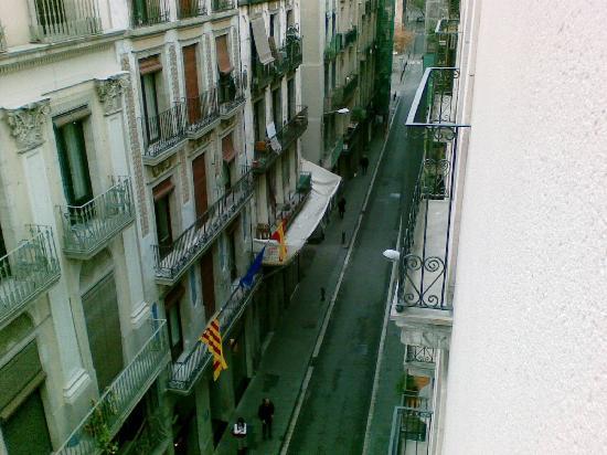 Hotel Silken Ramblas Barcelona: view from room
