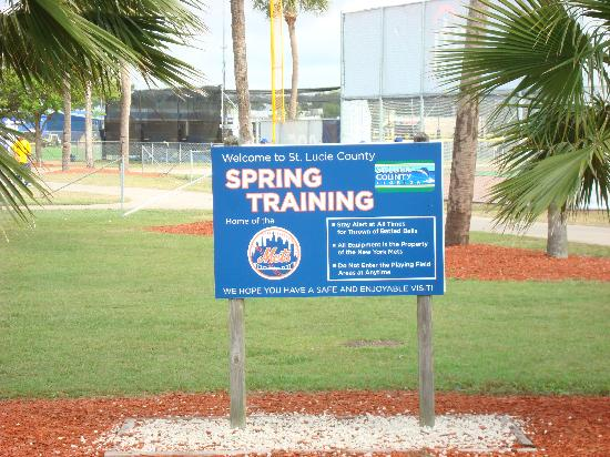 First Data Field: Welcome to Spring Training!