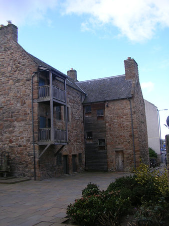 Ayr, UK: 15th Century Loudon Hall, townhouse of the Campbells of Loudon