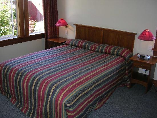 858 George Street Motel: Bedroom