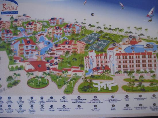 Holguin Cuba Carte Brisas Guardalavaca.Resort Map Picture Of Brisas Guardalavaca Hotel Tripadvisor