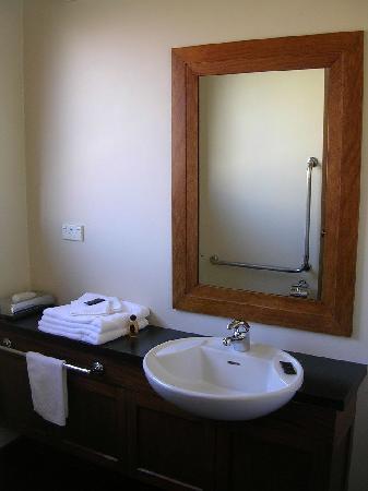 858 George Street Motel: Bathroom
