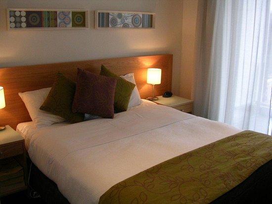 Centr@l Precinct Apartment Hotel : Bedroom