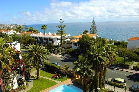 Roca Verde Apartments : Meerblick vom Balkon