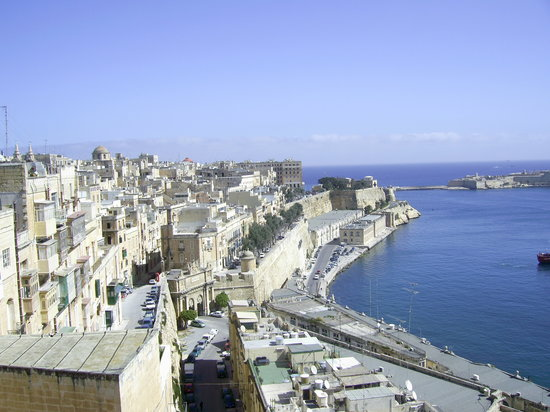 La Valeta, Malta: no 2 view from the fort above velletta