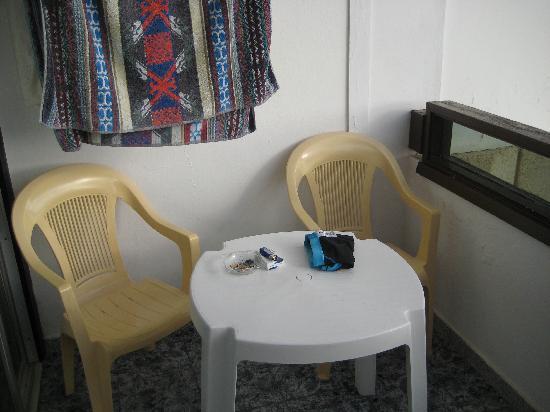 Apartamentos Koka: Balcony