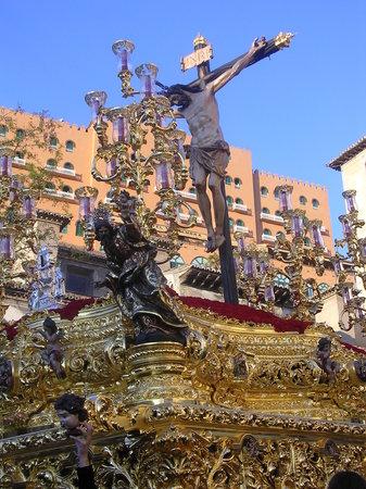 Гранада, Испания: Sto. cristo de los Favores.