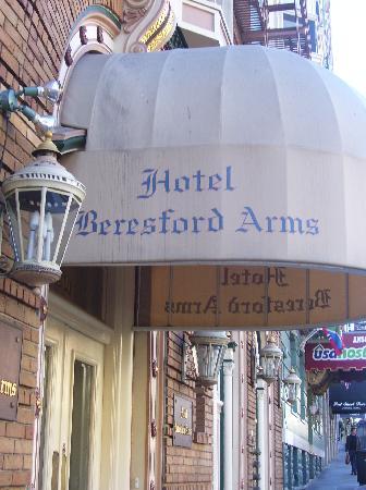 Beresford Arms Entrance