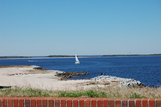 Fernandina Beach, Flórida: Beautiful view from Fort Clinch