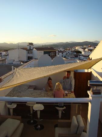 Hotel Palacio Blanco: View to the north