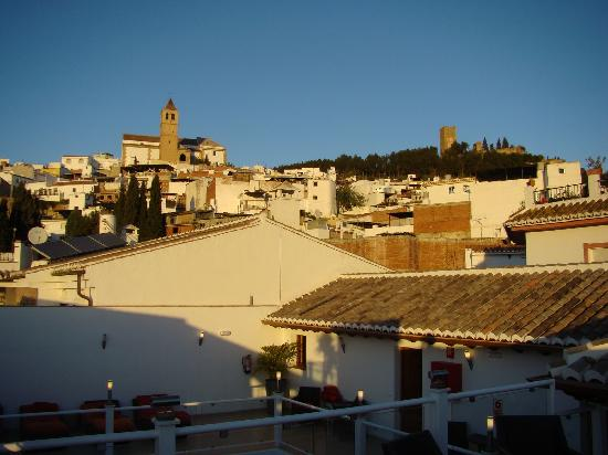 Hotel Palacio Blanco: view to the east