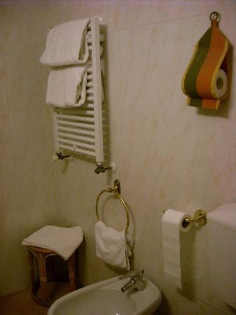 Hotel Argentina : Baño privado 1