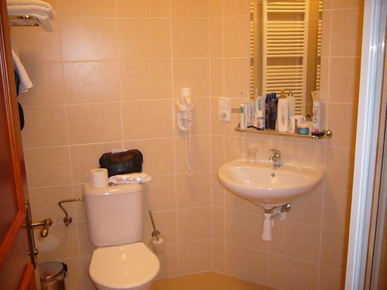 Amigo City Centre Hotel : Parte del baño