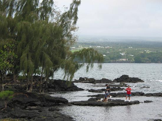 Country Club Hawaii Condo Hotel: Park a short walk from hotel