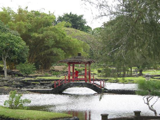 Country Club Hawaii Condo Hotel: Japanese Garden near the hotel