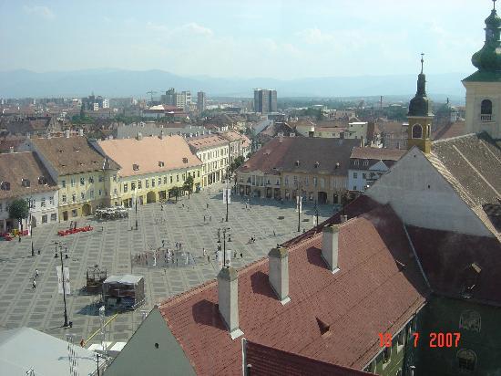 Sibiu Old Town Square
