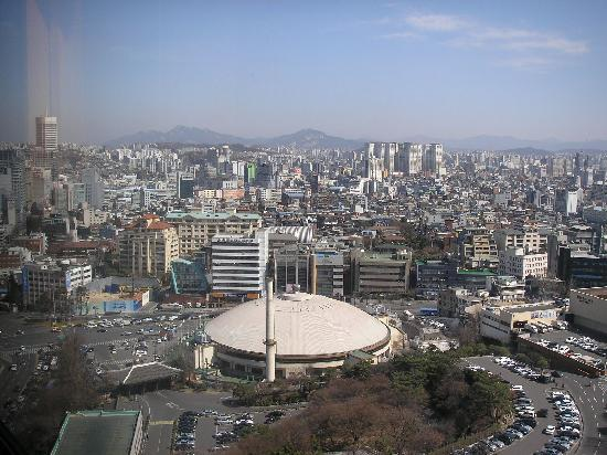 The Shilla Seoul: another view from the room