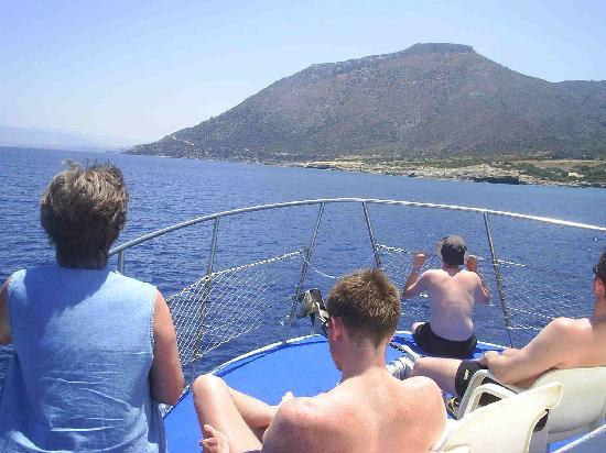 Pafos, Chipre: Boat Trip - Near Paphos