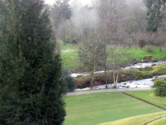 Gidleigh Park Hotel: View from hotel room