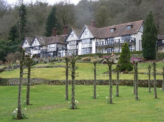 Gidleigh Park: Another view of the Hotel