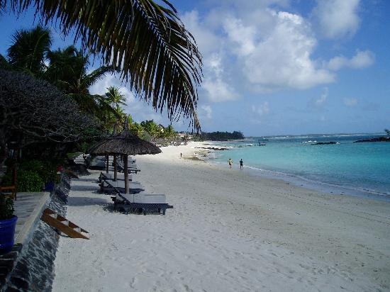 Constance Belle Mare Plage : The beach
