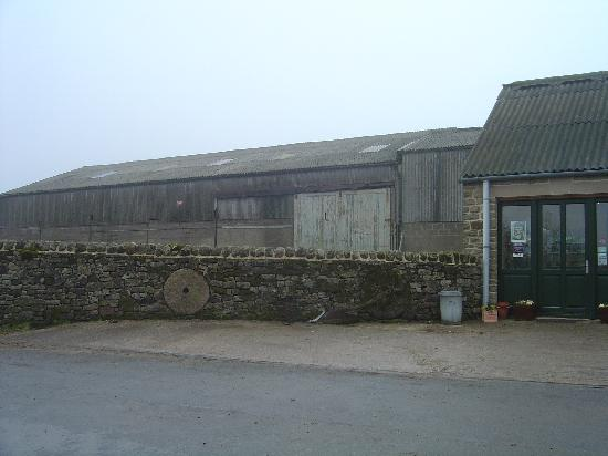 Hearthstone Farm: The sheep barn and the farm shop