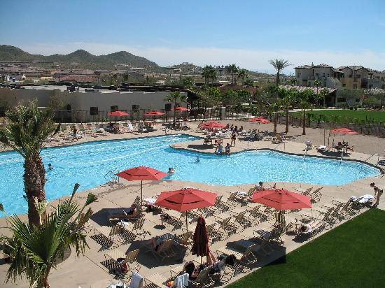 Cibola Vista: Partial Pool View from Water Slide
