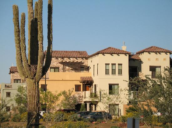 Cibola Vista: View from Streetside