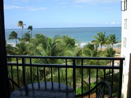 Wyndham Grand Rio Mar Beach Resort & Spa: Balcony View