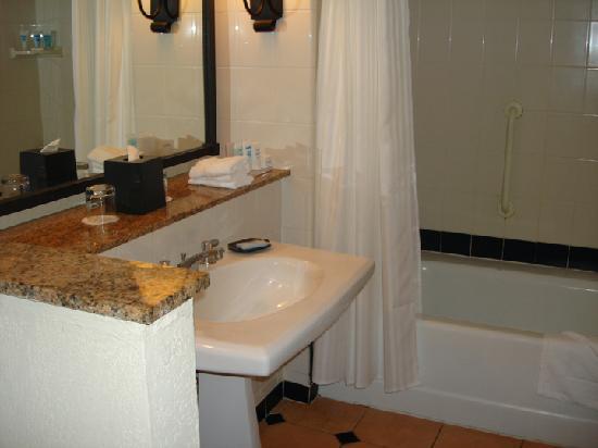 Wyndham Grand Rio Mar Beach Resort & Spa: Bathroom-Toilet is next to where I am standing