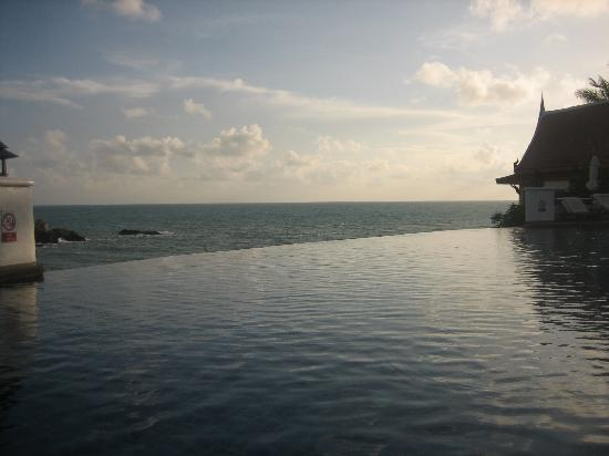 The Samudra Retreat Samui : view from infinity pool