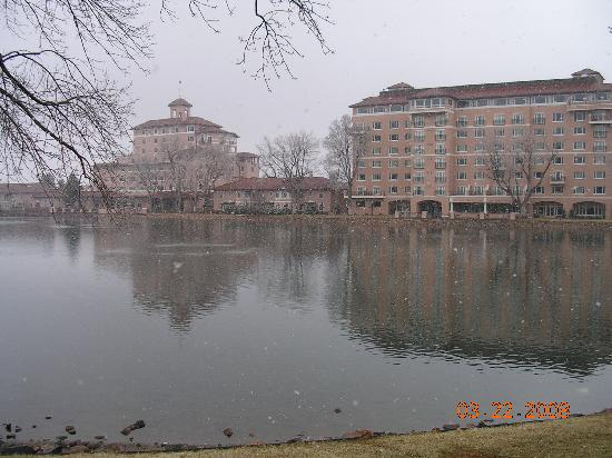 Christmas Lights Everywhere Picture Of The Broadmoor
