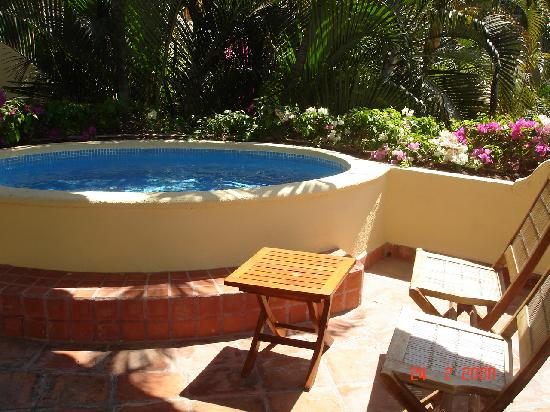 Casa Velas: Private plunge pool on our balcony