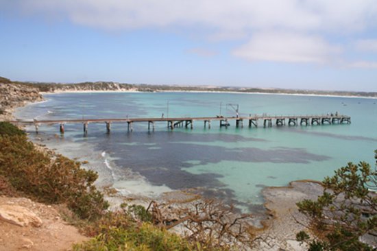 Isla Canguro, Australia: Vivonne Bay, startlingly pretty